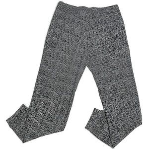 Express Pants - Express B&W Pattern Pleated Pull On Pants
